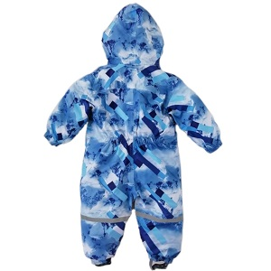 Комбинезон непромокаемый Mammie синие пиксели