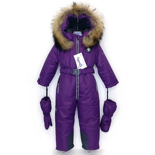 Зимний комбинезон Егорка Даймонд 86-116 фиолетовый