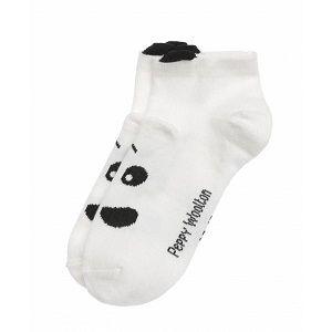 Носки детские Peppy Woolton Панда укороченные