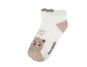 Носки детские Peppy Woolton Тедди укороченные
