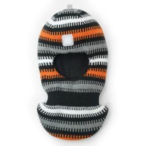 Шапка шлем Artel зима черный оранжевый