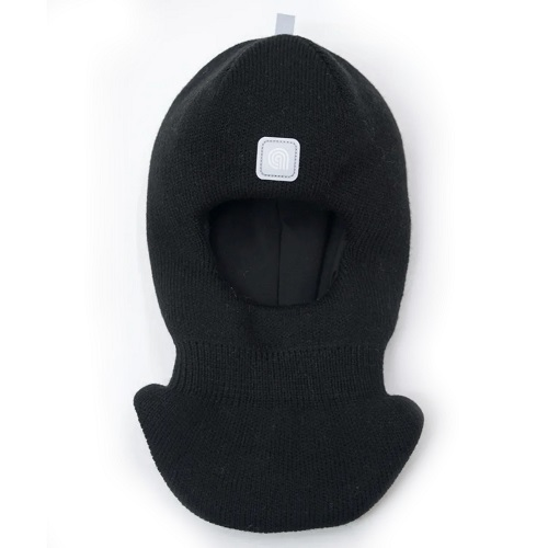 Шапка шлем Artel зима черный