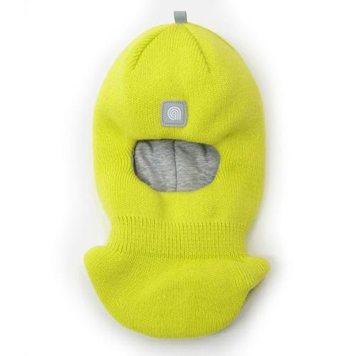 Шапка шлем Artel зима желтый неон