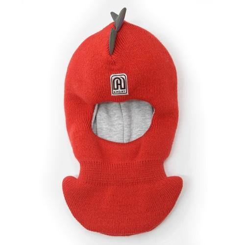 Шлем шапка Artel Дино красный