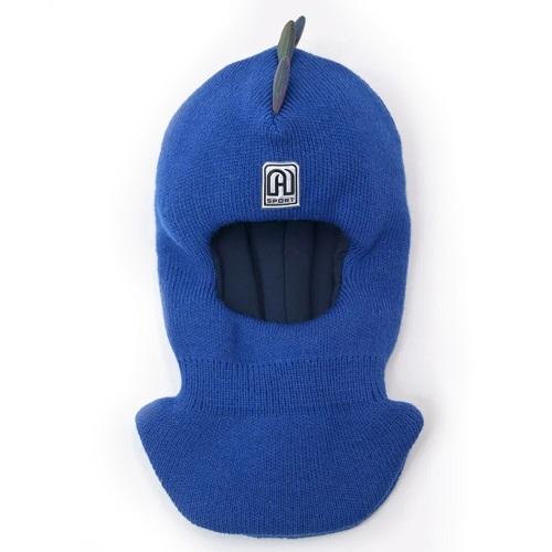 Шлем шапка Artel Дино синий