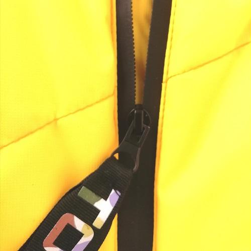 Зимний комбинезон TOMAS premium жёлтый