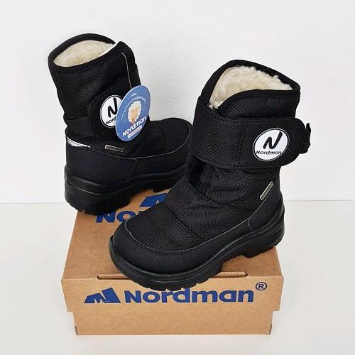 Мембранные сапоги Nordman Next черный