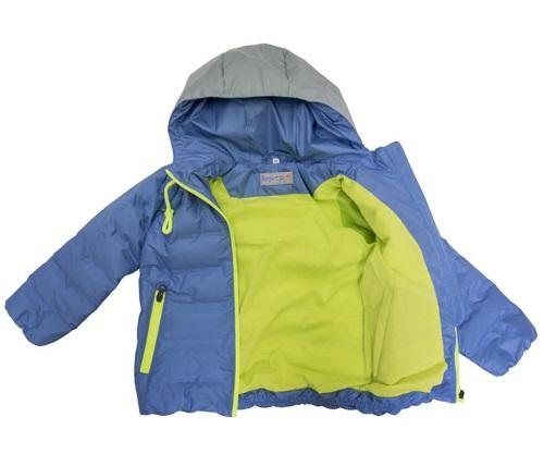 Куртка для мальчика Скай 92-128 синий