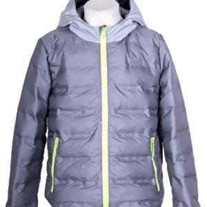 Куртка для мальчика Скай 104-128 серый